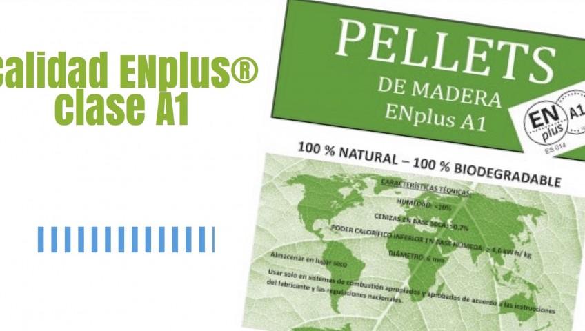 Venta de pellet de calidad ENPlus A1